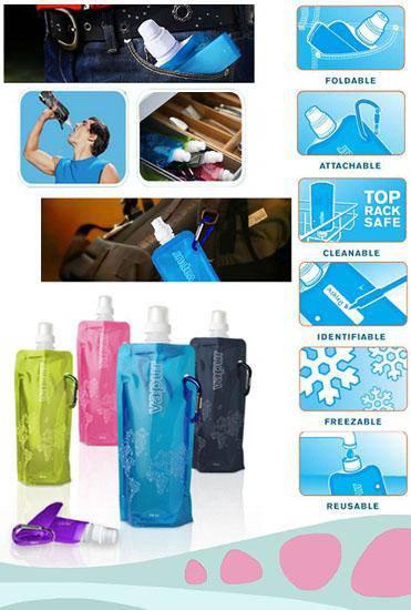 خرید و فروش آنلاین همراه با تخفیف بطری آب تاشوی همراه در هایپرشاین - hypershine.ir