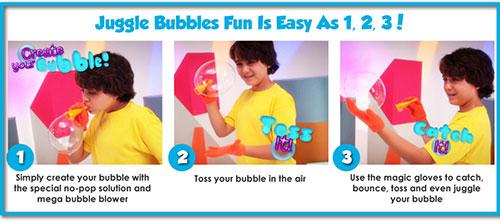 دستکش حباب